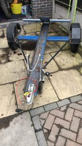 A TRF member near Chester has a single bike trailer for sale £150. Will get you his tel. no if you